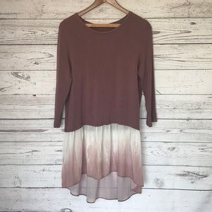 Logo Lori Goldstein Blush Tunic Size Medium